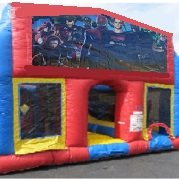 Super Heroes 1 70 Foot Obstacle Wrap Around Maze