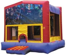 Super Heroes 1 Bounce House