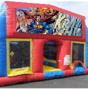Superman 70 Foot Obstacle Wrap Around Maze