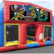Ninja Turtles 70 Foot Obstacle Wrap Around Maze