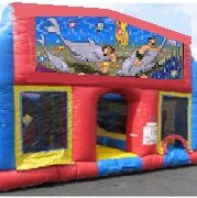 Under the Sea 70 Foot Obstacle Wrap Around Maze