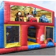 Cars 70 Foot Obstacle Wrap Around Maze