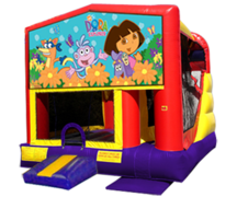 Dora the Explorer 4n1 Combo Bouncer