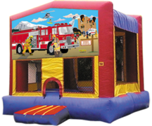 Firefighters Bounce House
