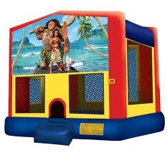 Hawaiian Princess Bounce House