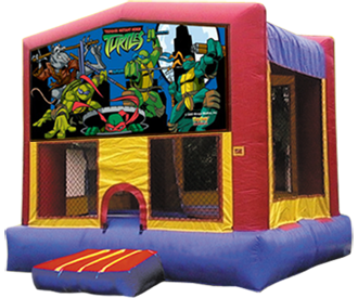 Ninja Turtles Bounce House
