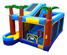 Tropical Bounce & Water Slide Combo #1