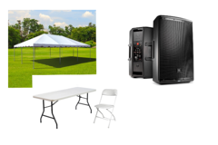 The Big Day party  package