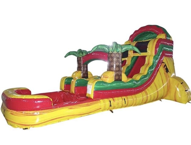 Rasta Rage Waterslide 16ft