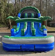 Hawaiian Beast Dual Lane Water Slide 18 ft