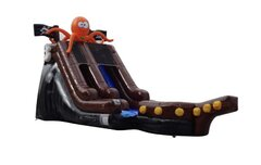 Pirate Ship Waterslide