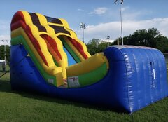 Half Pipe 18 foot Water Slide