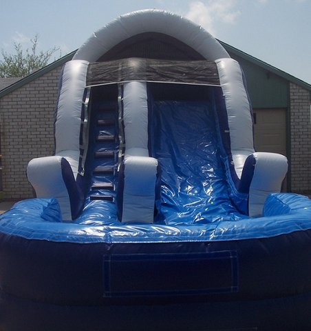 13 ft. Wave Slide w/Pool