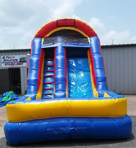 16 ft. Slide w/Pool