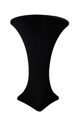Table- 30 in. Round Cocktail Table w/Black Cover