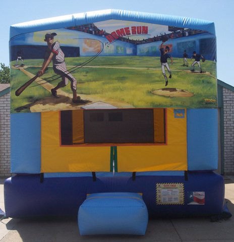 Baseball Bounce House