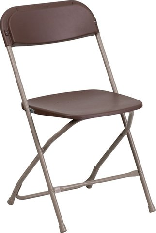 Folding Chair- Brown