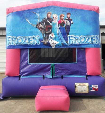 Frozen Panel Bounce House