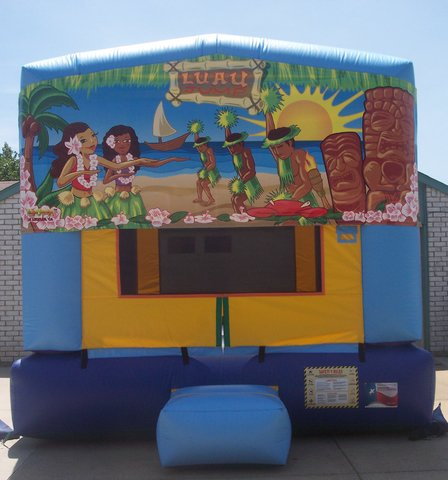 Luau Panel Bounce House