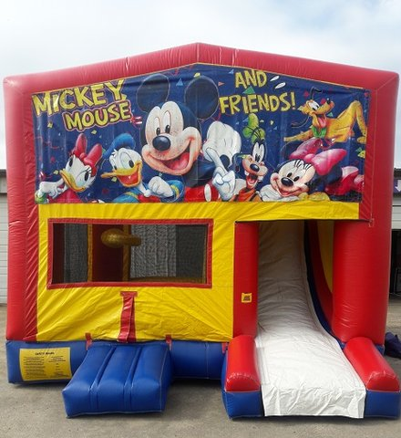 Mickey & Friends Combo B- Slide w/Goal