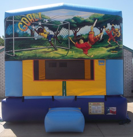 Soccer Panel Bounce House