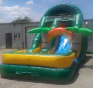 16 ft. Tropical Slide w/Pool