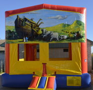 Ark Panel Bounce House w/Goal
