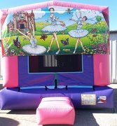 Ballerina Bounce House