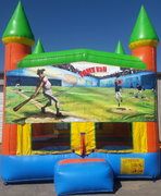 Baseball Bounce House w/Goal