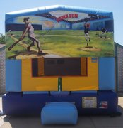 Baseball Panel Bounce House