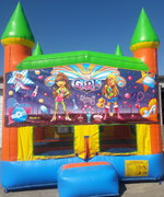 Girl's Thing Bounce House w/Goal
