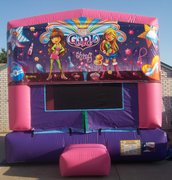 Girl Thing Panel Bounce House