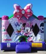 Minnie Mouse 4- Bounce House