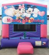 Minnie Panel Bounce House