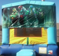 Ninja Turtles Panel Bounce House