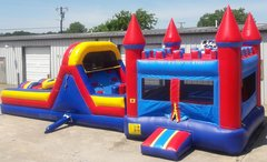 Obstacle Bounce House w/ 24 ft Obstacle