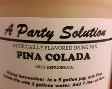 Frozen Drink- Pina Colada Mix