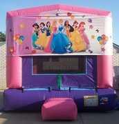 Princess Panel Bounce House