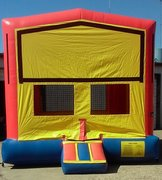 Red Module (5) w/Goal- Bounce House
