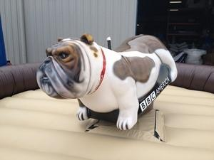 Mechanical bull - BULLDOG - american flag (includes 1 operator)