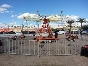 Mechanical swings (includes 1 operator)