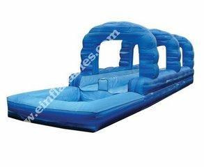 27' Blue crush slip and slide