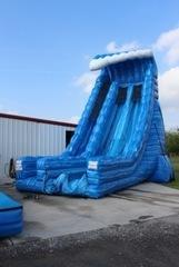27' Blue crush DRY slide
