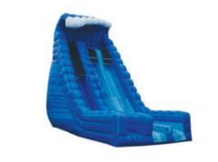22' Blue crush DRY slide
