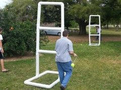 Giant ladder golf