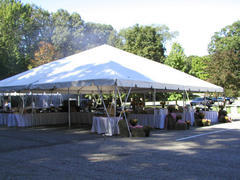 Frame tent 40'X40'