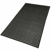 Wooden floor mat protection