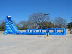 36' Blue crush water slide