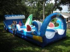 Surf the Wave Slip & Slide