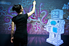 Digital Graffiti Wall